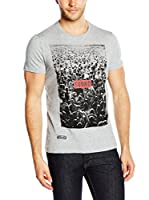 Pepe Jeans London Camiseta Manga Corta Larrabee (Gris Claro)
