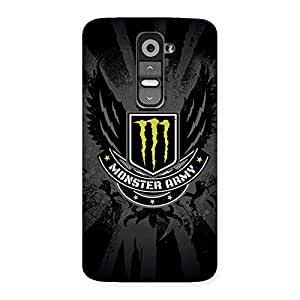 Enticing Army M Multicolor Back Case Cover for LG G2