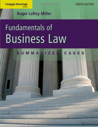Cengage Advantage Books: Fundamentals of Business Law:...