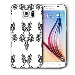 Snoogg Layered From Star Printed Protective Phone Back Case Cover For Samsung Galaxy S6 / S IIIIII