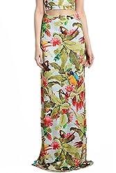 Divaat Multi Lycra Long Skirt For Women