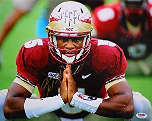 JAMEIS WINSTON SIGNED FLORIDA STATE SEMINOLES 11x14 PHOTO PSA DNA #T52890
