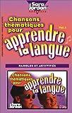 echange, troc Tracy Ayotte-Irwin - Chansons Thematiques Pour Apprendre LA Langue