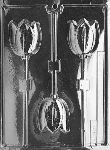 TULIP LOLLY Flowers, Fruits & Vegitables Candy Mold Chocolate