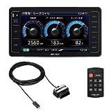 コムテック GPSレーダー探知機 ZERO 802V+OBDII OBD2-R2