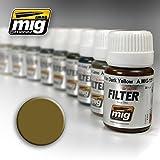 Ammo of Mig Jimenez Ochre for Light Sand Filter 30ml #1503