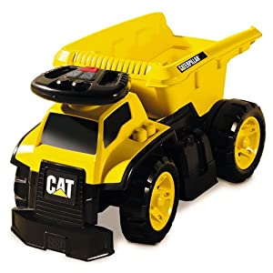 Amazon Com Mega Bloks Cat 3 In 1 Ride On Dump Truck Toys Amp Games
