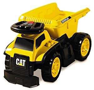 Mega Bloks Cat 3 - In - 1 Ride - On Dump Truck
