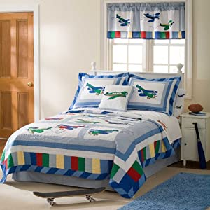 Pem America 2-Piece Fly Away Quilt Set, Twin