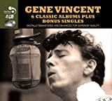 Gene Vincent 6 Classic Albums Plus Bonus Singles [Audio CD] Gene Vincent