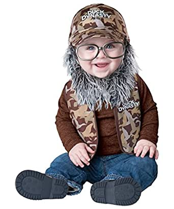 Uncle Si Robertson of Duck Dynasty Baby Costume