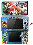 New Super Smash Bros 4 SSB4 Game Skin for Nintendo 3DS Console