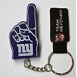 New York Giants #1 Finger Keychain
