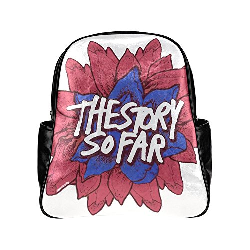 Wihuae The Story So Far Black Multi-pocket Backpack Shoulder Bag