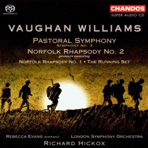 SACD : VAUGHAN WILLIAMS / EVANS / HICKOX / LSO - Symphony 3 / Norfolk Rhapsody 1 & 2