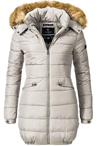 Navahoo picco tempo lungo da donna invernale cappotto Imbottito Beige Large