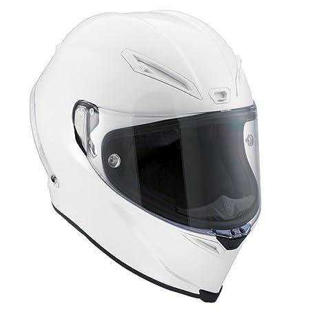 AGV Helmets 6101A4DW_003_XXL Corsa E2205 Solid W, Blanc, Taille XXL