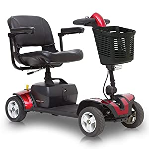 Pride Mobility Go-Go Sport 4-wheel Electric Travel Scooter Heavy Duty S74 + FREE ACCESSORIES