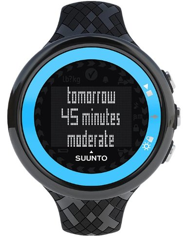 Cheap Suunto M4 Womens Heart Rate Monitor, Turquiose and Black (B0097A35WE)