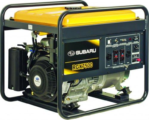 Subaru RGX7500 Industrial Power Generator EX40 14 HP ...