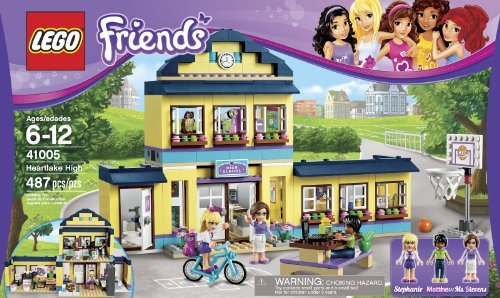 Lego Friends Heartlake High 41005 Toy, Kids, Play, Children