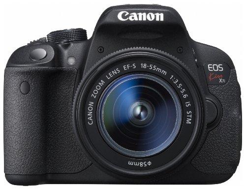Canon デジタル一眼レフカメラ EOS Kiss X7i EF-S18-55 IS STM レンズキット KISSX7I-1855ISSTMLK