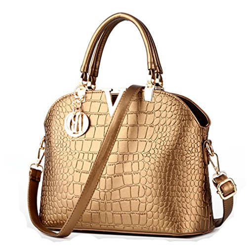 [Fleeting Time Womens European and American Fashion Handbag Crocodile Pattern Shell Bag(C2)] (Ny Costumes Rental)