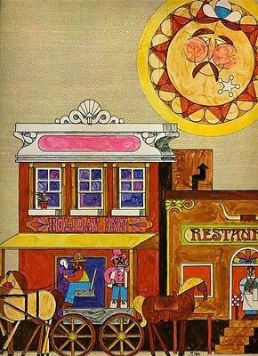 holiday-inn-restaurant-menu-western-town-colorful-cover-1970s