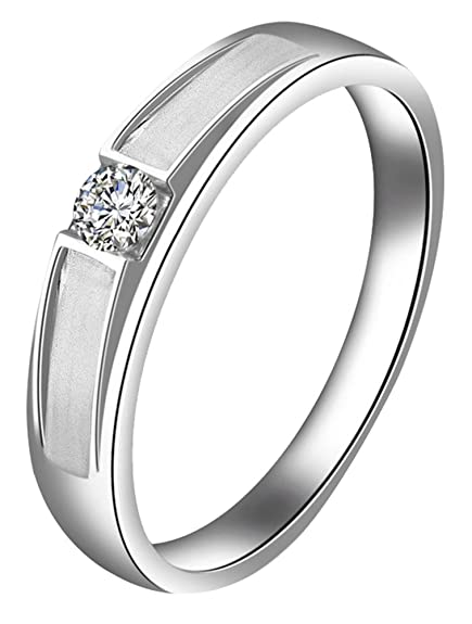 Generic Women's Metal Thin Engagement Ring