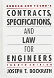 img - for Dunham and Young's Contracts, Specifications, and Law for Engineers book / textbook / text book