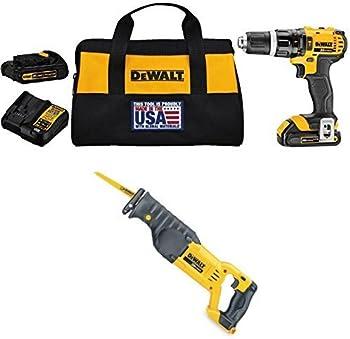 DEWALT DCD785C2 Hammer Drill/Driver Kit