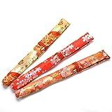 【お買い得】篠笛袋(柄おまかせ・色指定)赤系