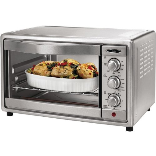 Countertop Convection Oven Round : Slice Stainless Steel Convection Toaster Oven - OSTER