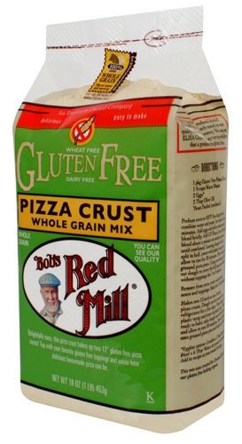 Bob's Red Mill PIZZA CRUST Whole Grain Mix GLUTEN FREE 16oz (3 pack) (Easy Bake Real Meal compare prices)