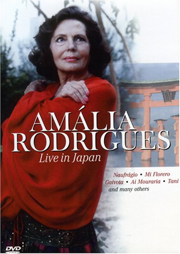 Cover art for  Amalia Rodrigues: Live In Japan
