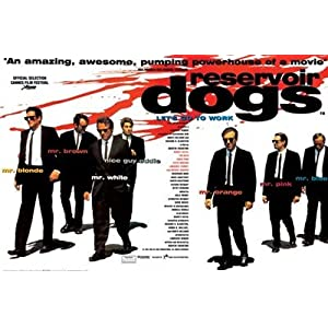 Reservoir Dogs Uk Poster New Movie Mr Tarantino St4310 Movie Poster Print, 36x24