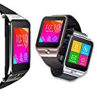 Indigi® SWAP (Smart Watch And Phone) 2-in-1 GSM Wireless + Bluetooth Interconvertible SmartWatch - Unlocked - AT&T / T-Mobile (Silver)