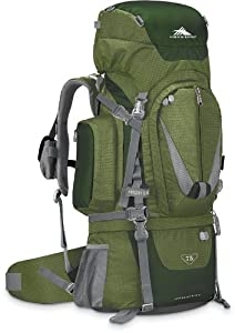High Sierra Classic Series 59501 Appalachian 75 Internal Frame Pack Amazon 34x14.25x10.25 Inches 4580 Cubic Inches 75 Liters