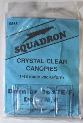 Squadron Products Dornier Do 17E/M/P Vacuform Canopy Set 2