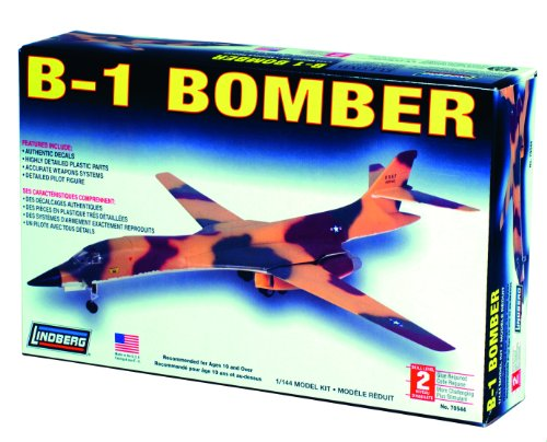 Lindberg 1:144 scale B-1 Bomber
