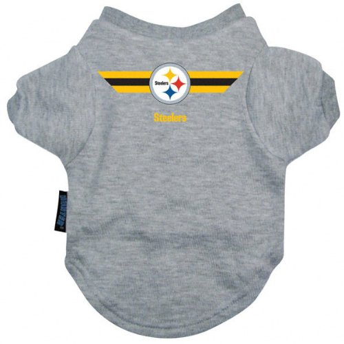 Hunter Pittsburgh Steelers Team Pet T-Shirt
