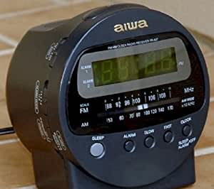 aiwa fr a37u digital clock radio alarm electronics. Black Bedroom Furniture Sets. Home Design Ideas