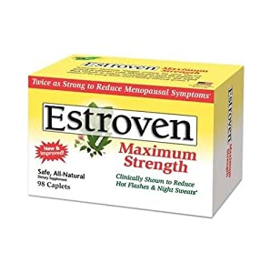 Estroven Maximum Strength Menopause Formula - 98 Caplets