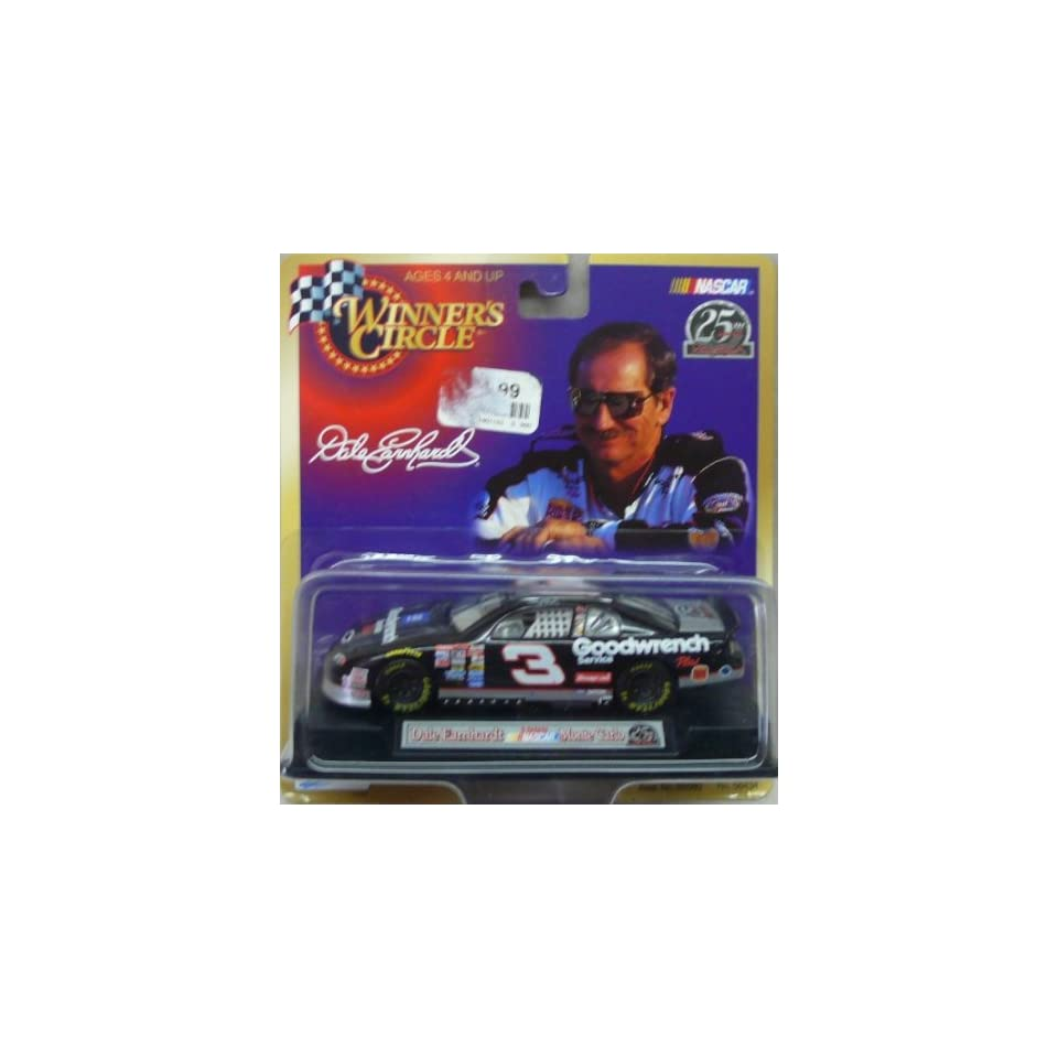 NASCAR   1999   Winners Circle   25th Anniversary   Dale Earnhardt   No. 3 Chevy Monte Carlo   143 Scale Die Cast Replica Car Collectible