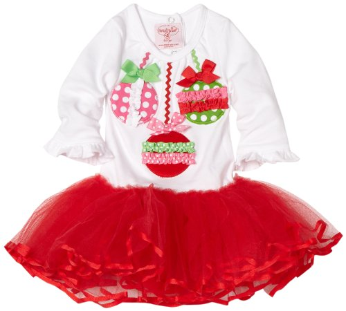 Mud Pie Baby-girls Newborn Ornament Tutu Dress Picture