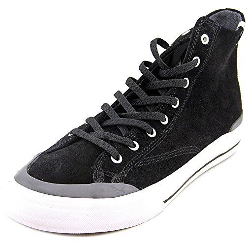 HUF Men's Classic Hi Vintage Inspired Hi Top Skate Shoe, Black/Slate, 7 M US