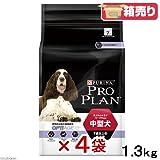 箱売り ピュリナ プロプラン オプティエイジ 中型犬 7歳以上の成犬用 チキン 1.3kg お買い得4袋