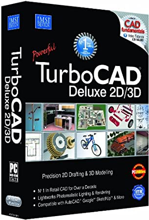 TurboCAD Deluxe 17 2D / 3D CAD (PC)