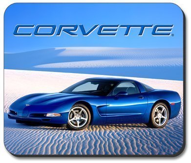 C5 Corvette Desert Blue Mouse Pad