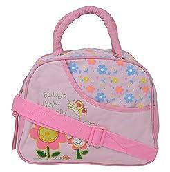 WonderKart Multi Purpose Baby Diaper Shoulder Bag - Pink